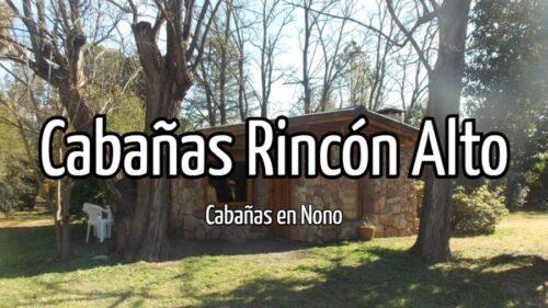 Cabañas Rincón Alto